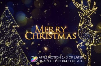 Photo of Christmas Slideshow Promo Apple Motion – Videohive Download 25233634