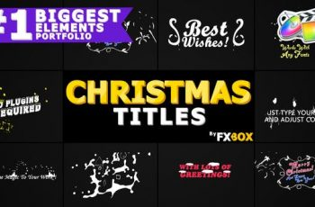 Photo of Christmas Titles And Transitions | FCPX – 25296025 Download Videohive