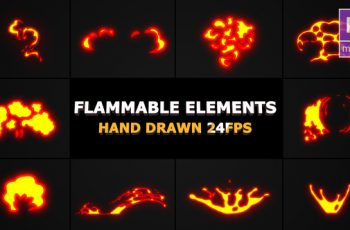 Photo of Flammable FX Elements – Download Videohive 22870651