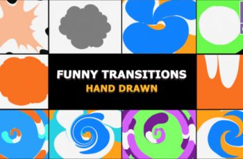 Photo of Funny Transitions – Download Videohive 22869819