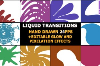 Photo of Hand Drawn Transitions – Download Videohive 22879220