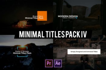 Photo of Minimal Intro Titles lV for Premiere Pro – Download Videohive 22585524