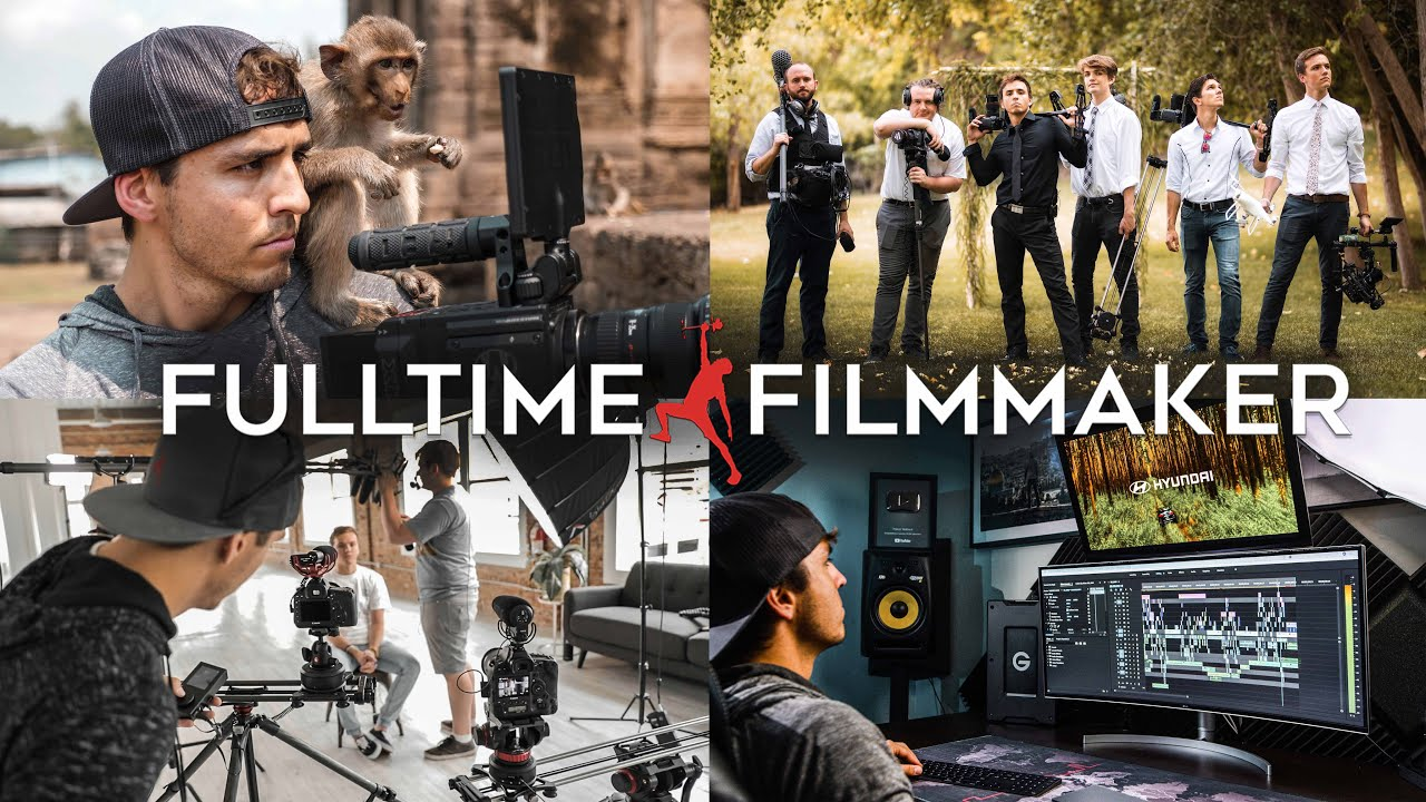 Photo of FULL TIME FILMMAKER – BASIC (MAIN) COURSE, OLDER VERSION – SHOOTING & EDITING VIDEOS TLP000006