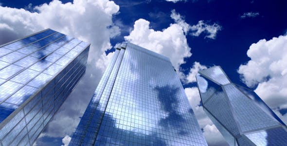 Photo of Skyscrapers Sky and Clouds – Videohive 13109574