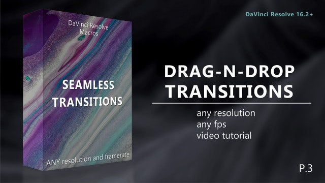 Photo of Drag-N-Drop Seamless Transitions Pack 3 – MotionArray 599475