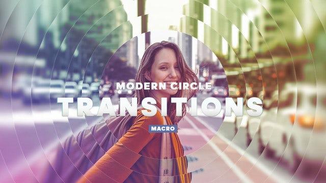 Photo of Modern Circle – Macros Transitions – MotionArray 591792