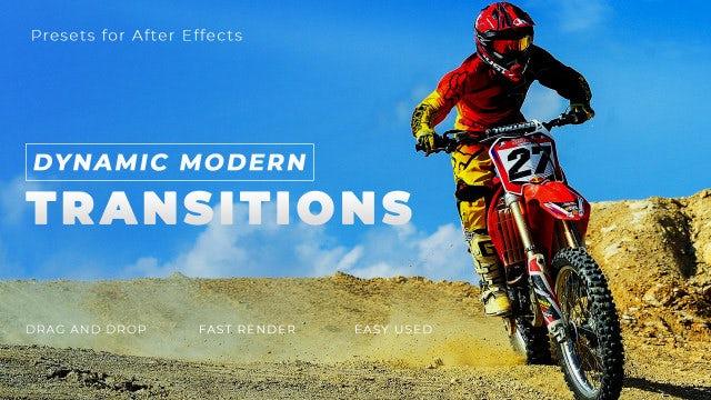 Photo of Dynamic Modern Transitions – MotionArray 825369