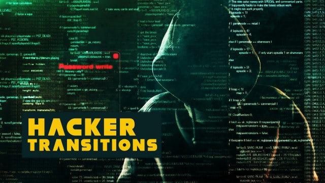 Photo of Hacker Transitions – MotionArray 811755