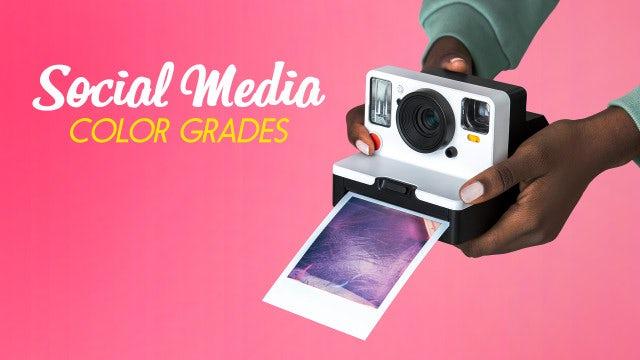 Photo of Social Media Color Grades – MotionArray 829363