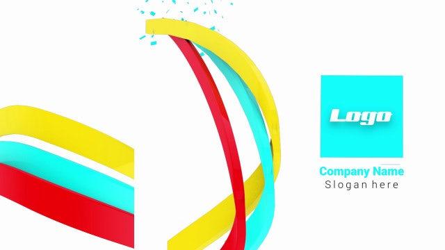 Photo of 3D Ribbons Logo – MotionArray 861101