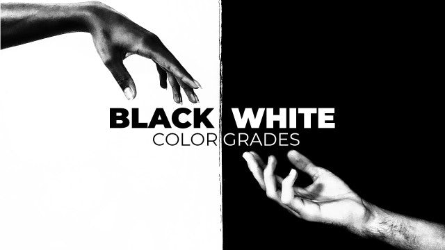 Photo of Black And White Color Grades – MotionArray 854341