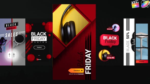 Photo of Black Friday Instagram Stories – Videohive 29521107