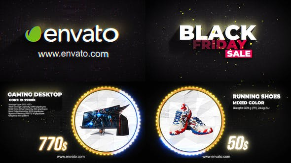 Photo of Black Friday Promo – Videohive 29456598