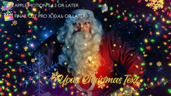 Photo of Christmas Lights Promo – Apple Motion – Videohive 29486116