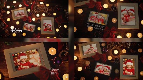 Photo of Christmas Night Photo Frame – Videohive 20951394