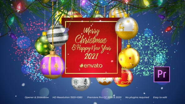 Photo of Christmas Opener Slideshow –  Premiere Pro – Videohive 29495812