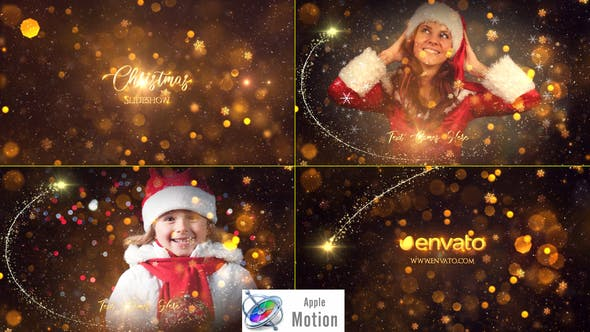 Photo of Christmas Slideshow – Apple Motion – Videohive 29448106