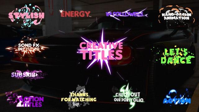 Photo of Creative Titles – MotionArray 860243