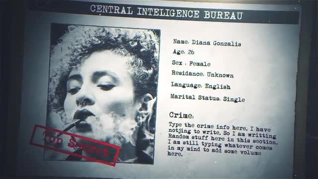 Photo of Criminal Profile – MotionArray 861931