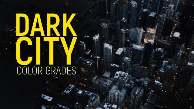 Photo of Dark City Color Grades – MotionArray 851486