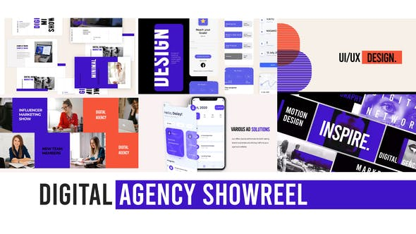 Photo of Digital Agency Web Showreel – Videohive 29506116