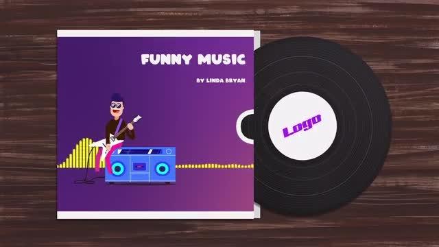 Photo of Funny Character Audio Visualization – MotionArray 858683
