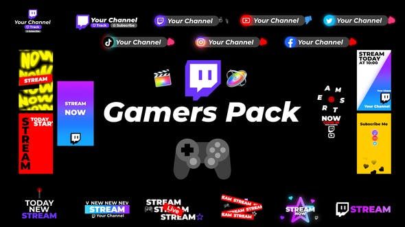 Photo of Gamers Pack – Videohive 29222663