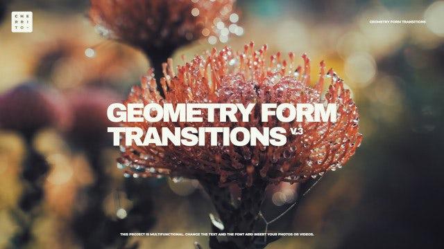 Photo of Geometry Form Transitions V.3 – MotionArray 862346