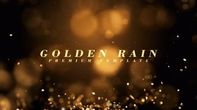 Photo of Golden Rain – MotionArray 860211