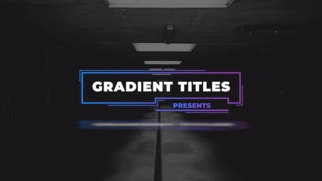 Photo of Gradient Titles – MotionArray 863793
