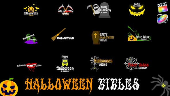 Photo of Halloween Titles – Videohive 29145200