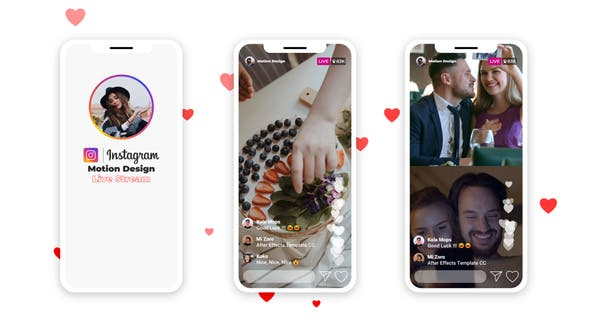 Photo of Instagram Live Stream – Videohive 28890178