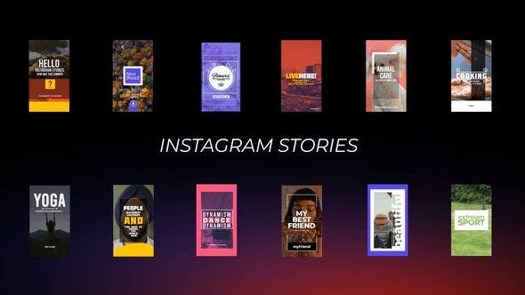 Photo of Instagram Stories – Videohive 28602933