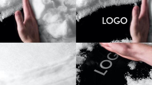Photo of Logo Under Snow – MotionArray 861882
