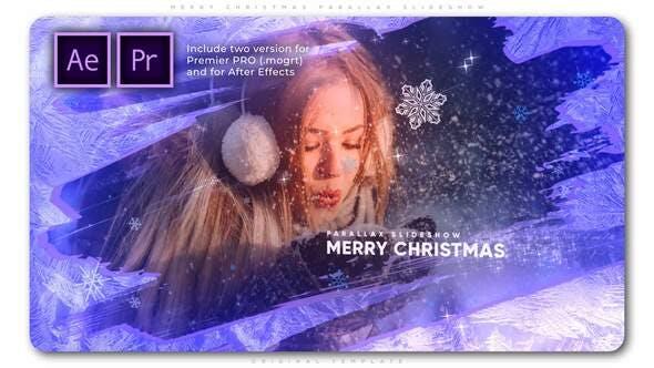 Photo of Merry Christmas Parallax Slideshow – Videohive 29479039