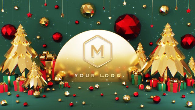 Photo of New Year & Christmas Logo – MotionArray 860133