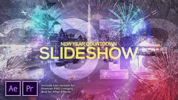 Photo of New Year Countdown Slideshow | Opener – Videohive 29479024