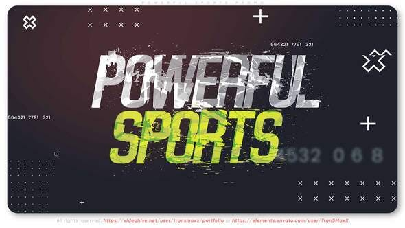 Photo of Powerful Sports Promo – Videohive 29478925