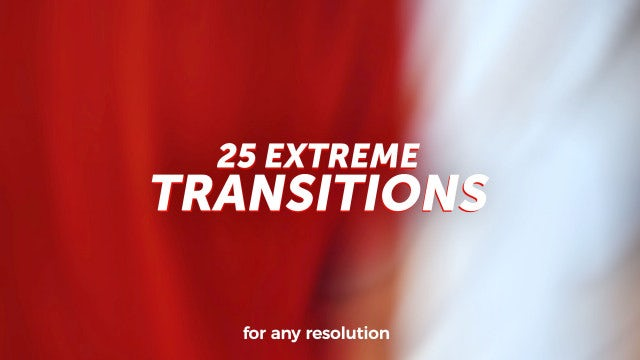 Photo of Extreme Transitions – MotionArray 851124