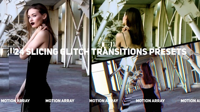 Photo of Slicing Glitch Transitions Presets – MotionArray 856350