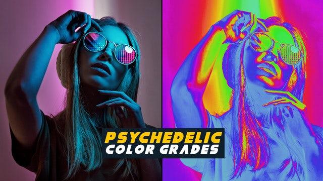 Photo of Psychedelic Color Grades – MotionArray 856179