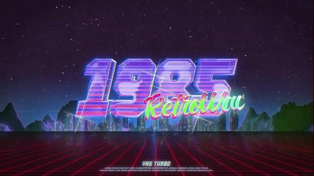 Photo of Retro Wave Logo – MotionArray 860052