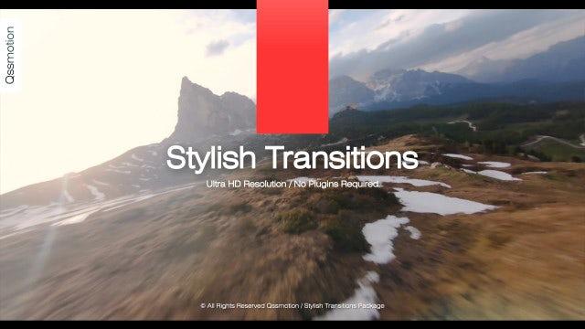 Photo of Stylish Transitions – MotionArray 861946
