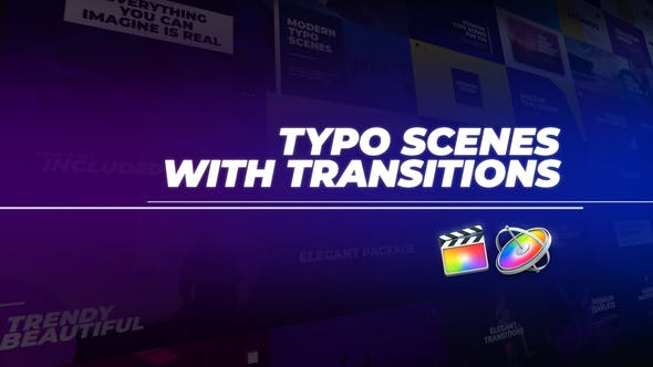 Photo of Typo Scenes with Transitions – Videohive 28972617