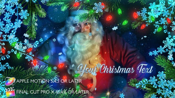 Photo of Winter Christmas Promo – Apple Motion – Videohive 29487177