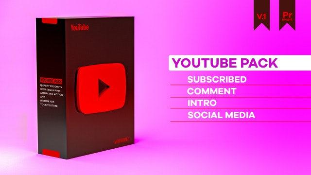 Photo of YouTube Pack V 1.0 Mogrt – MotionArray 859960