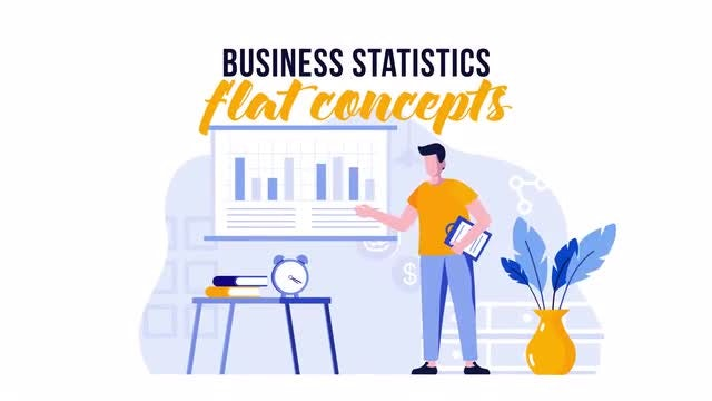 Photo of Business Statistics – Flat Concept – MotionArray 889195