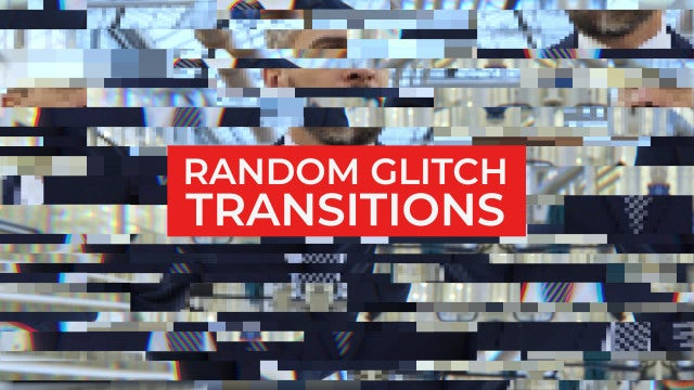 Photo of Random Glitch Transitions – MotionArray 886108