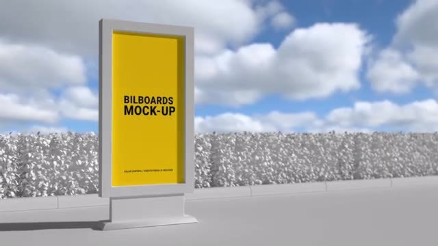 Photo of Billboard Mock-up VII – MotionArray 909009