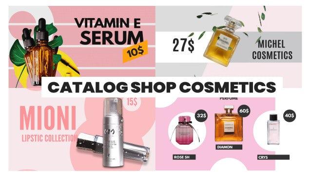 Photo of Catalog Cosmetics Shop – MotionArray 902943